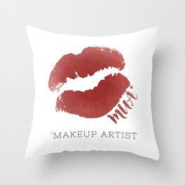 MUA *Makeup Artist Throw Pillow