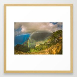 Sunshine and the Rainy Framed Art Print