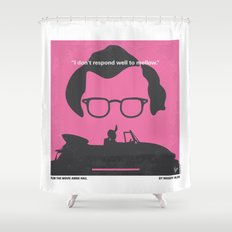 No147 My Annie Hall minimal movie poster Shower Curtain
