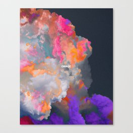 Orage (Colorful clouds in the sky III) Canvas Print