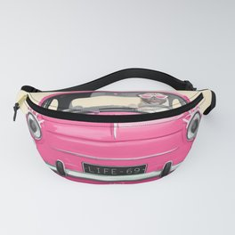 Pug Adventure Life Fanny Pack
