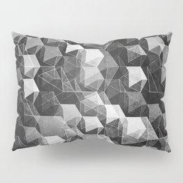 as the curtain falls (monochrome series) Pillow Sham