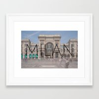 milan Framed Art Prints featuring MILAN by Diego Russo Photography