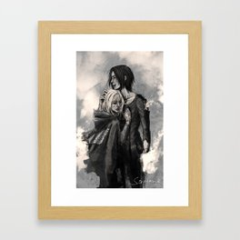 """No matter what, I'm on your side."" Framed Art Print"