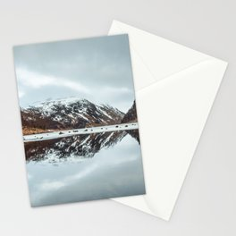 Reflected Mountain Stationery Cards