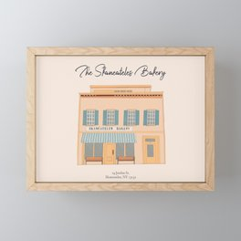 Skaneateles Bakery Framed Mini Art Print