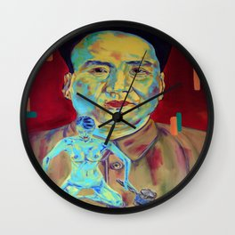 You have the right to remain silent. Anything you say can and will be used against you. Wall Clock