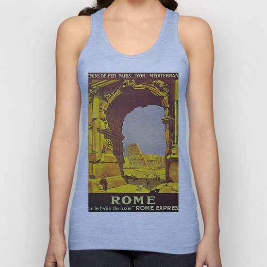 Vintage poster - Rome by mosfunky