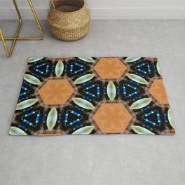 Hexagonal Rug
