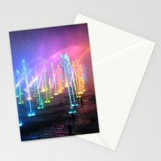 Lights in the Water Stationery Cards