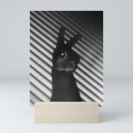 Shadow Bunny Mini Art Print