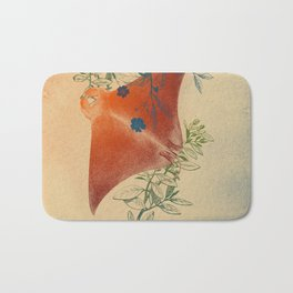 Stingray in The Weeds Bath Mat