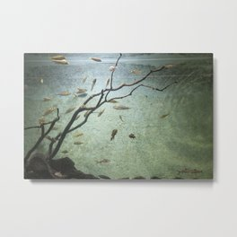 aquatique Metal Print