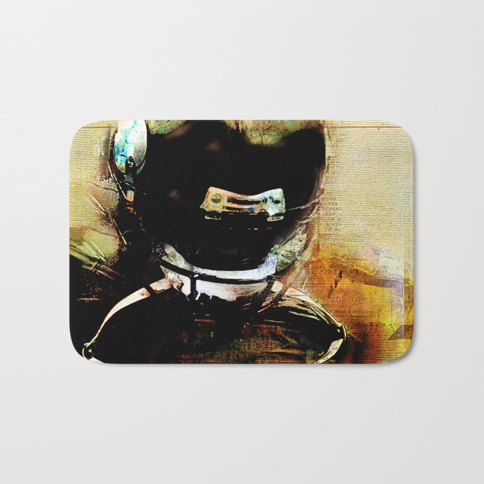Quarterback Bath Mat