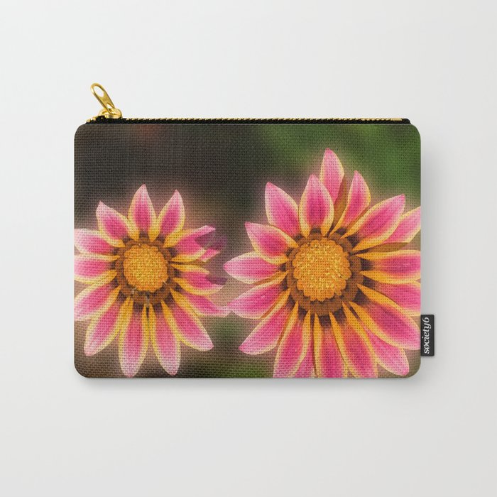A Sunshine Daisy Carry-All Pouch