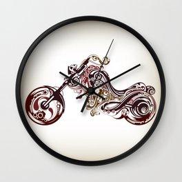 motorcycles Wall Clock
