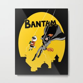 The Adventures of Bantam and Little Pecker Metal Print