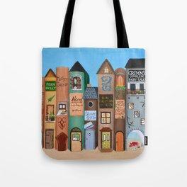Wee Folk Lane Tote Bag