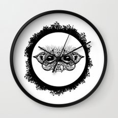 Half Creature Wall Clock