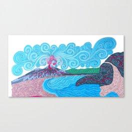 pulcinella Canvas Print