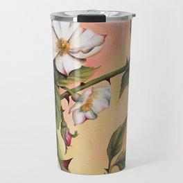 Vanilla Rose II Travel Mug