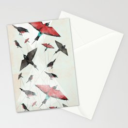 Tied Down Stationery Cards