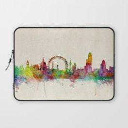 London Skyline Watercolor Laptop Sleeve