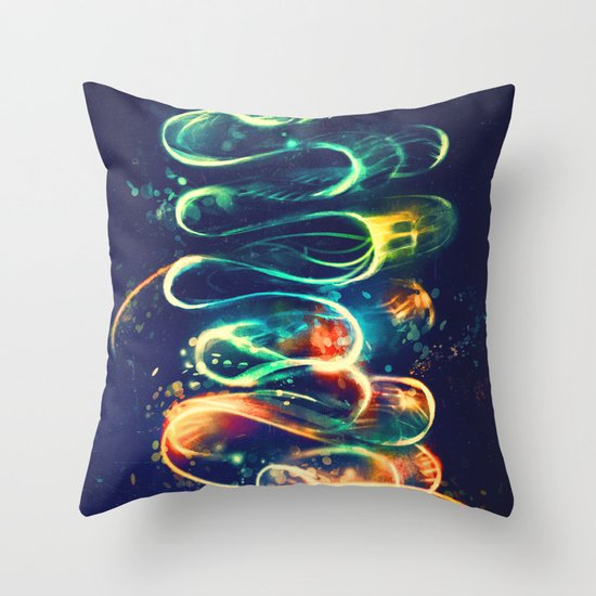 Leptocephalus Throw Pillow