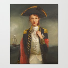 Her Face Launched A Thousand Ships Canvas Print