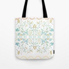 Boho floral Tote Bag