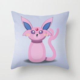 Evolution Bobbles - Espeon Throw Pillow