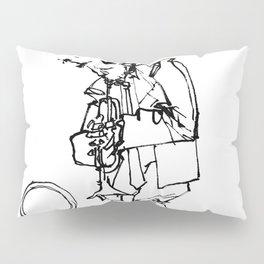 the trumpeter Pillow Sham