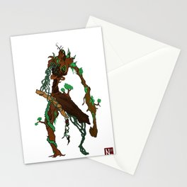 The tree man Stationery Cards