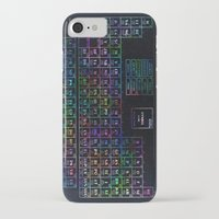 periodic table iPhone & iPod Cases featuring periodic table of elements by Bekim ART