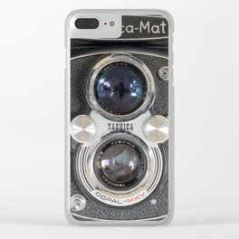 Yashica-Mat twin lens reflex Clear iPhone Case