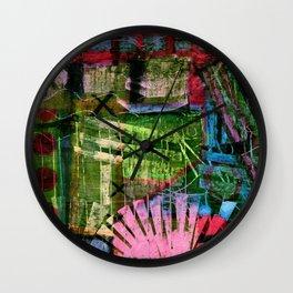 Carnival Clutter Wall Clock