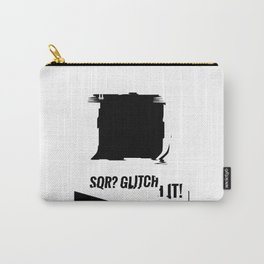 SQR? GLITCH IT! 3 Carry-All Pouch