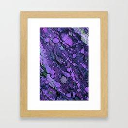 Purple River Framed Art Print