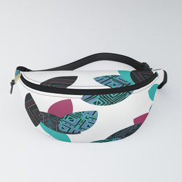 Aztec leafs Ioo Fanny Pack