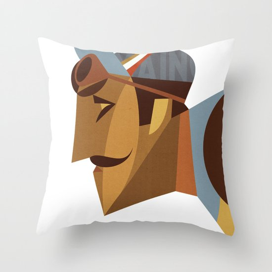 Maino Color Throw Pillow