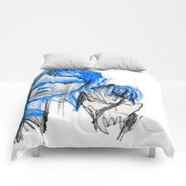plastic girl Comforters