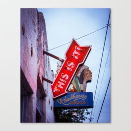 This is It! Canvas Print