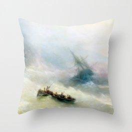 Ivan Aivazovsky - Rainbow Throw Pillow