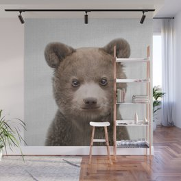 Baby Bear - Colorful Wall Mural