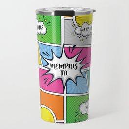 Memphis Slang Travel Mug
