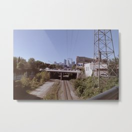 Washed out Minneapolis Metal Print