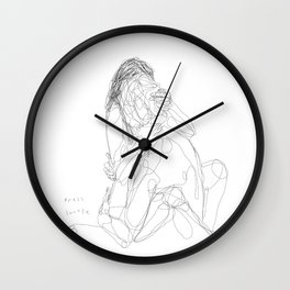 Snooze more often Wall Clock