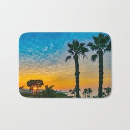 Twin Palm Corona Del Mar Sunrise Bath Mat