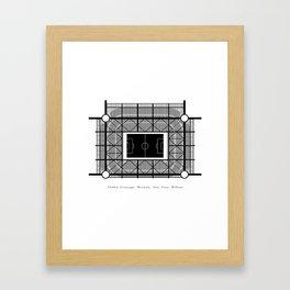 STADIA: San Siro Framed Art Print