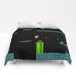 Mario Underworld Comforters